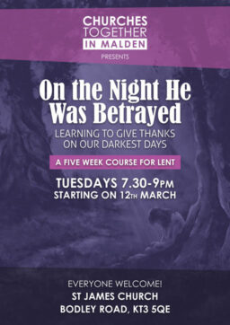 On the night he was Betrayed - Web